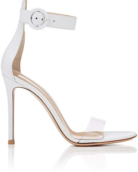 Gianvito Rossi Women's Stella Leather & PVC Sandals