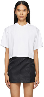Alyx White Cropped Logo T-Shirt