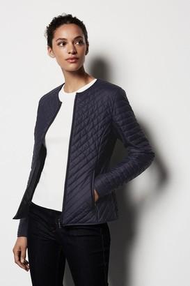 Karen Millen Diagonal Quilt Jacket