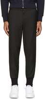 Paul Smith Black Wool Track Trousers