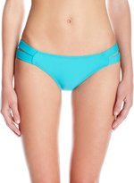 Pilyq Women's Strappy Madrid Full Bikini Bottom