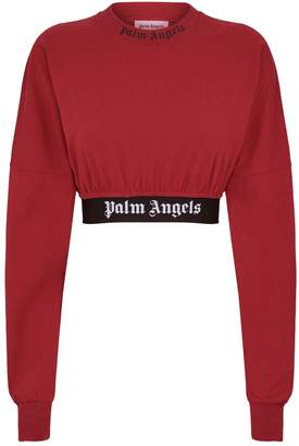 Palm Angels Cropped Logo Top