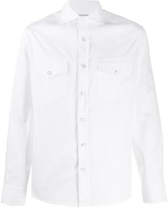 Brunello Cucinelli Plain Two-Pocket Shirt