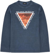 Diesel Graphic Tie Dye T-shirt