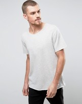 YMC Raw Hem Short Sleeve Sweat