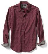 Banana Republic Grant-Fit Mini Print Custom Wash Shirt
