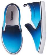 Gymboree Size 4 Slip-On Ombré Shoe in Blue