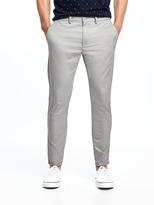 Old Navy Slim Ultimate Built-In Flex Lightweight Cropped Khakis for Men