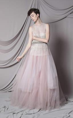 Marco & Maria Tattoo Lace Embellished Dress Size: 0