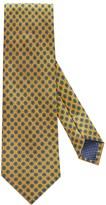 Eton Yellow Geometric Print Tie