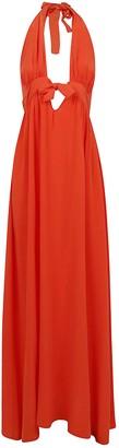 Fisico Cristina Ferrari Long Sleeveless Dress