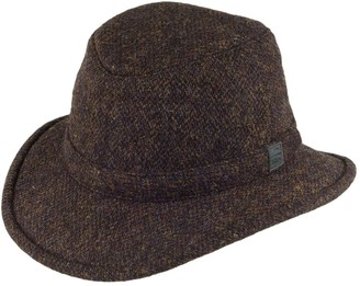 Tilley TW2-HT Winter Hat in Harris Tweed - Multi Mix 7 3/8