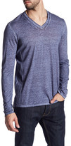 John Varvatos Long Sleeve V-Neck Pullover
