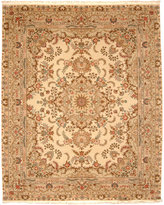 """Nourison Closeout! Royalty KC83 Ivory 7'9"""" x 9'9"""" Hand-Knotted Rug"""
