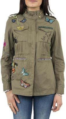 Desigual Women's Eclipse Military Jacket