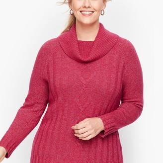 Talbots Marled Cowlneck Sweater