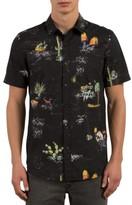 Volcom Men's No Vacancy Print Shirt