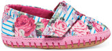 Toms Floral Stripes Tiny Crib Alpargatas