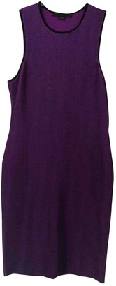 Alexander Wang Purple Polyester Dresses