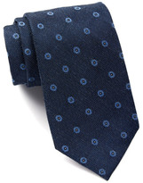 Calvin Klein Denim Metallic Dot Tie