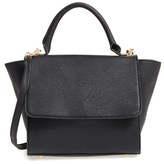 Sole Society 'Kimmi' Top Handle Satchel - Black
