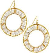 Nakamol Beaded Circle Drop Earrings