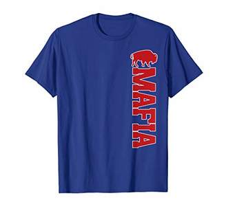 Buffalo David Bitton Bills Mafia   New York Vintage Football Game Day T-Shirt