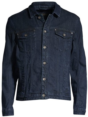 John Varvatos Denim Trucker Jacket