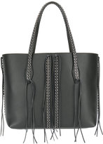 Tod's eyelet embellished tote - women - Calf Leather/Metal (Other) - One Size