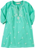 Pink Chicken Ava Dress (Toddler/Kid) - Turquoise - 3 Years