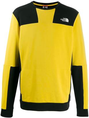 The North Face two-tone logo sweatshirt