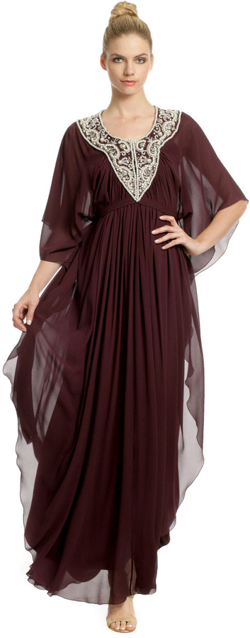 Temperley London Cleophis Caftan Gown
