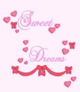 "Kids Line Babi Italia Dolce Wall Decals,sweet Dreams,4 Sheets,self-stick,10""x18"",Kids Line"