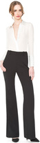 Alice + Olivia Black Dawn Flared Pant