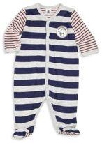 Petit Bateau Baby's Striped Footie