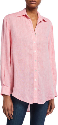 Finley Monica Oversized Washed Linen Shirt