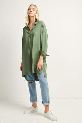 French Connenction Rhodes Popover Shirt Dress