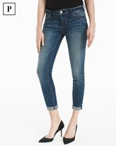 White House Black Market Petite Slim Crop Jeans