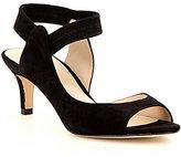 Pelle Moda Berti Suede Elastic Slingback Dress Sandals
