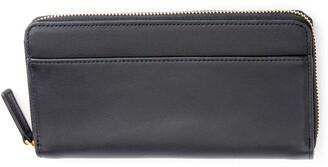 ROYCE New York ROYCE Continental RFID Leather Zip Wallet
