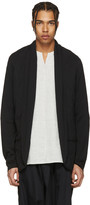 Attachment Black Kimono Cardigan