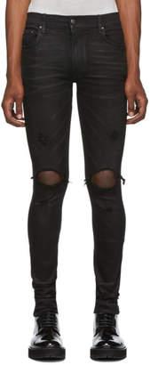 Amiri Black Thrasher Minimal Jeans