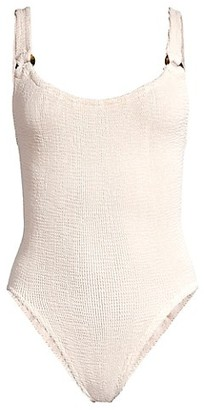 Hunza G Domino One-Piece Swimsuit