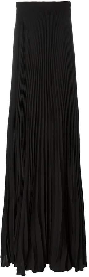 Ralph Lauren pleated maxi skirt