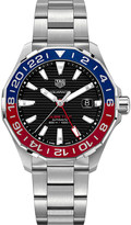 Tag Heuer WAY201F.BA0927 Aquaracer steel and sapphire-crystal watch
