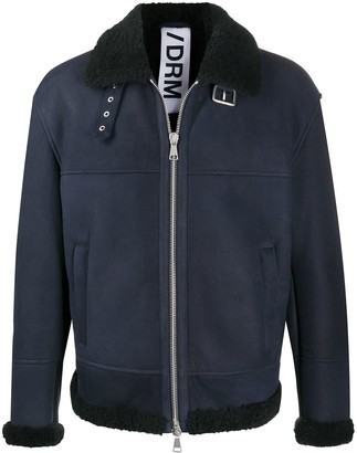 Drome Contrast-Collar Jacket