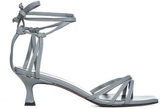 MANU Atelier Lace Nappa Leather Sandals