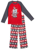 Petit Lem Holiday Two-Piece Pajama Set