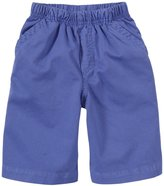 Charlie Rocket Pull On Twill Shorts (Toddler/Kid) - Blue-4T