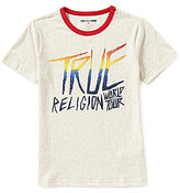 True Religion Big Boys 8-20 World Tour Short-Sleeve Graphic Tee